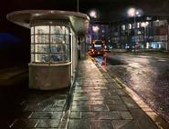 Royal Pavilion Bus Stop, Brighton