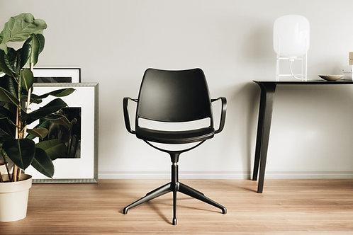 Gas swivel chair