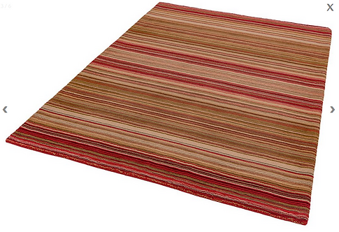 Vauxhall Rug Red