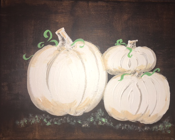 White Pumpkins 1