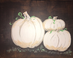 White Pumpkins 1