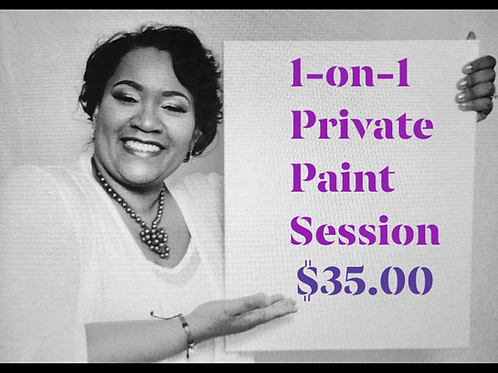 1-on-1 Private Paint Session