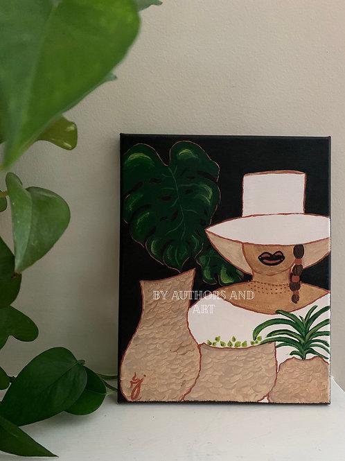 Pretty in Plants: 8x10 Canvas Series