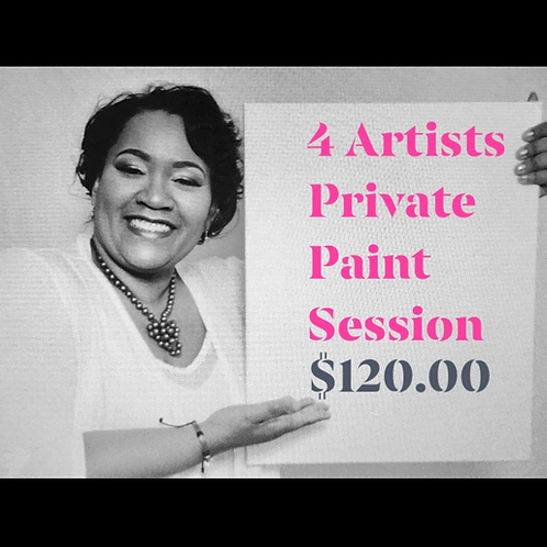 4 Artists Private Paint Session