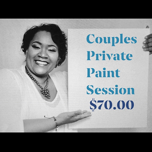 Couples Private Paint Session