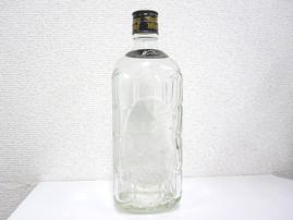 角瓶ボトルにレーザー彫刻(ガラス彫刻)