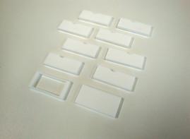 レーザーでゴム印を制作(レーザー彫刻)