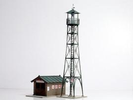 レーザーカットによる鉄道模型用ストラクチャのペーパーキット