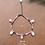 """Thumbnail: Bracelet de cheville """"MULTI-CAURIS"""""""