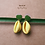 """Thumbnail: Pendants d'oreille cauris colorés """"pilibo"""""""