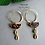 "Thumbnail: Pendants d'oreille ""Chocolate love"""