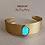 """Thumbnail: Bracelet """"acier et pierre naturelle """"SANA"""""""
