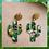 """Thumbnail: Pendants d'oreille """"Cactus"""""""