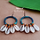 "Thumbnail: Pendants d'oreille ""CAURIS"""