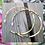 Thumbnail: Créoles dorées à l'or fin