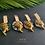 """Thumbnail: Pendants d'oreille """"Nefertari"""""""