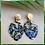 """Thumbnail: Boucles d'oreille feuille """" ENERY"""""""