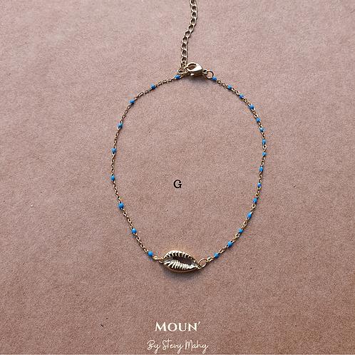 """Bracelet de cheville """"CHALÈ"""""""