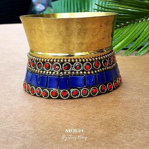 Bracelet Manchette Bronze