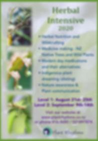 2020 Shamanic Herbal Apprenticeship - Au