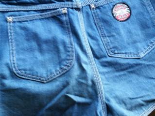 Inspiration: My favorite High School Jeans Shorts