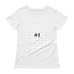 Gad Ladies' Scoopneck T-Shirt