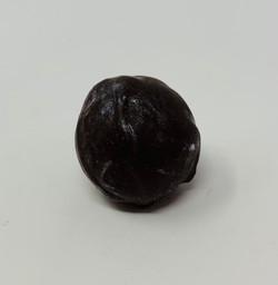Truffe coquelicot chocolat noir