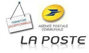 05/10 Fermeture Agence Postale