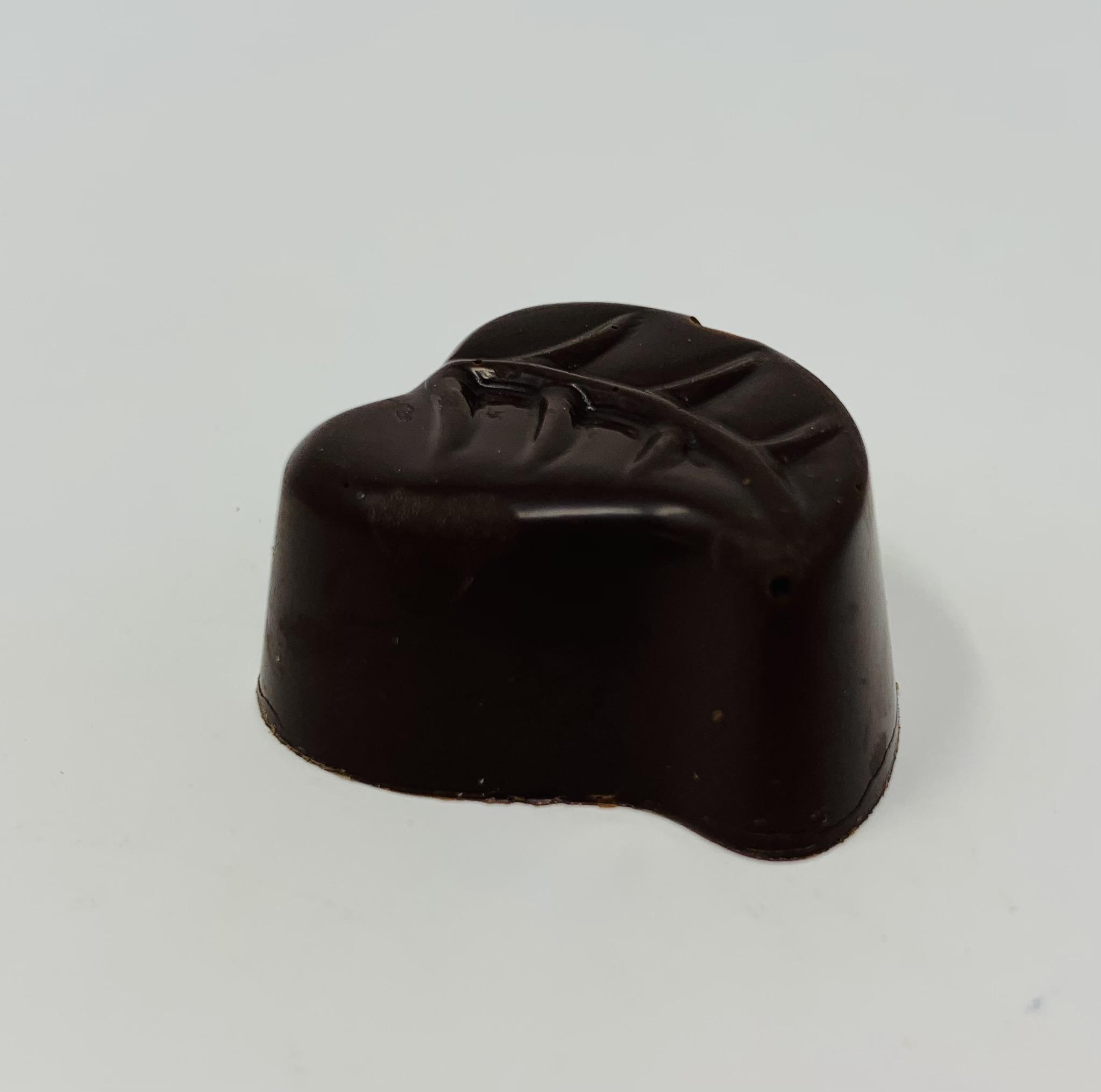 Ganache Coco au chocolat blanc enrobée_