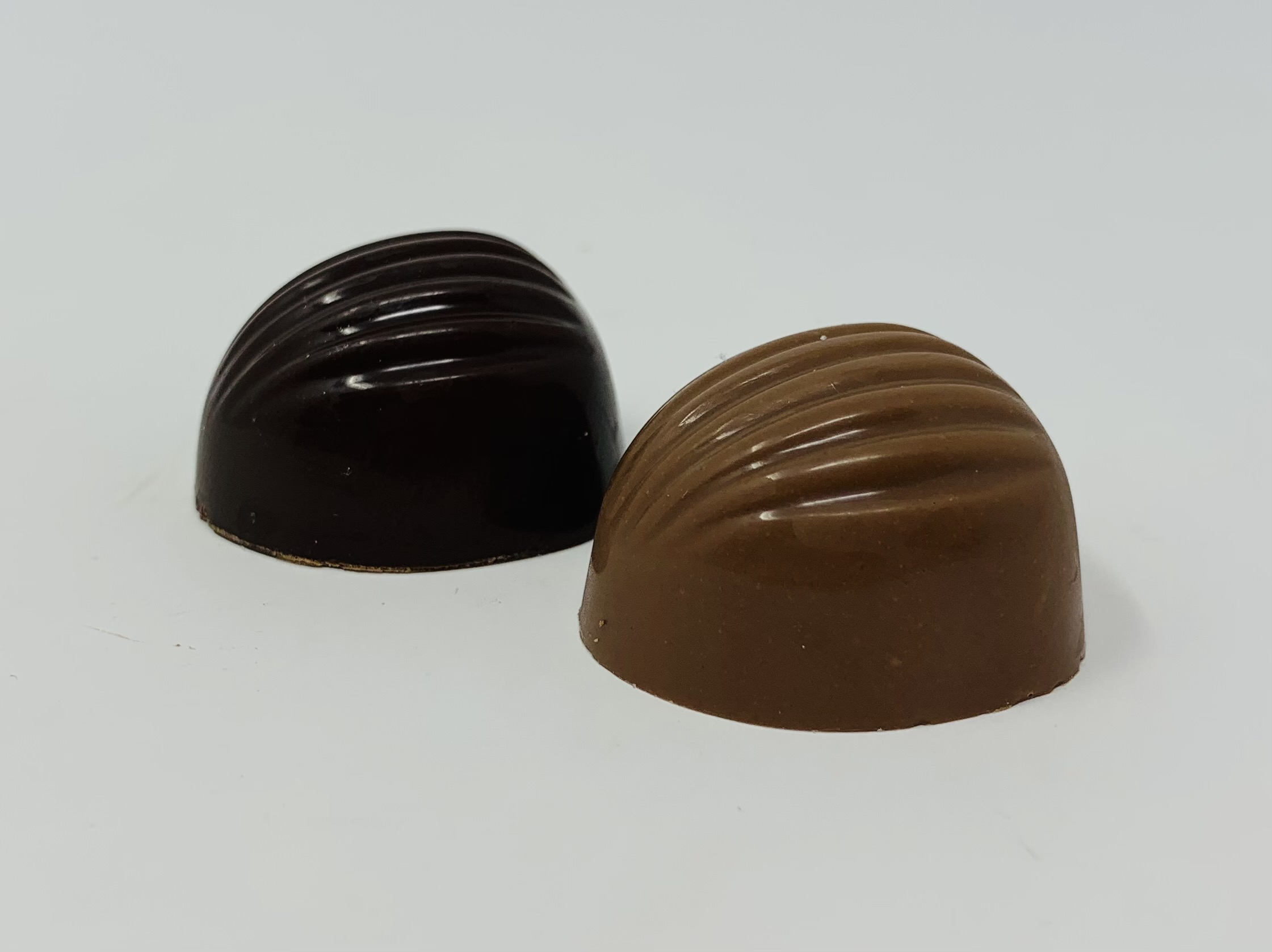 Nuts praliné et noisette grillée noir ou lait