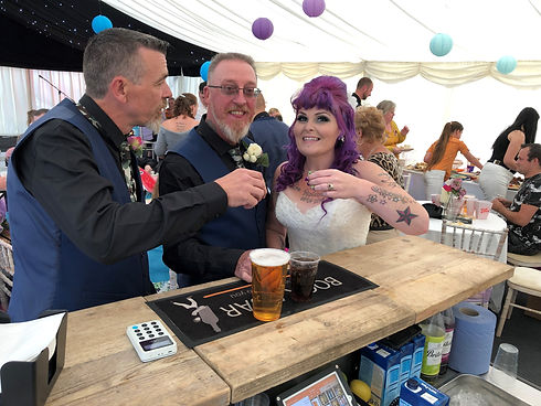 book a bar mobile bar wedding bride and