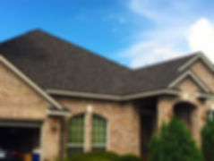 A house that received our residential roof replacement services in Austin, TX