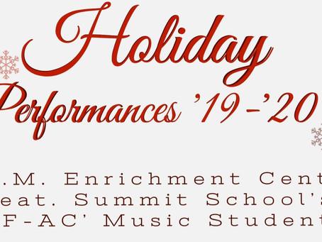 RECAP!! - AIMEC's Holiday Performances '19-'20