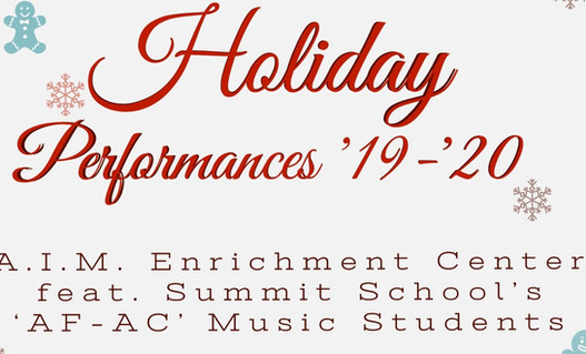 AIMEC Holiday Performances ('19-'20)