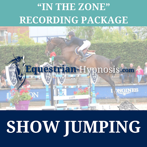 "Show Jumping ""In the zone"" recording package"