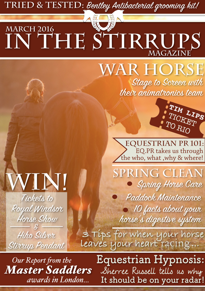 In The Stirrups - Sherree Russell talks about equestrian hypnosis