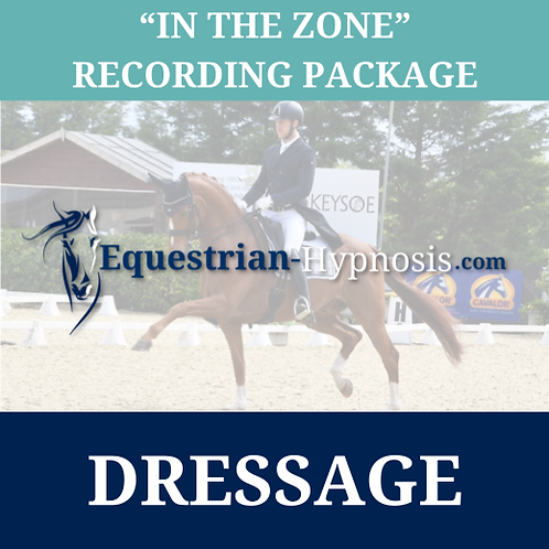 "Dressage ""In the zone"" recording package"
