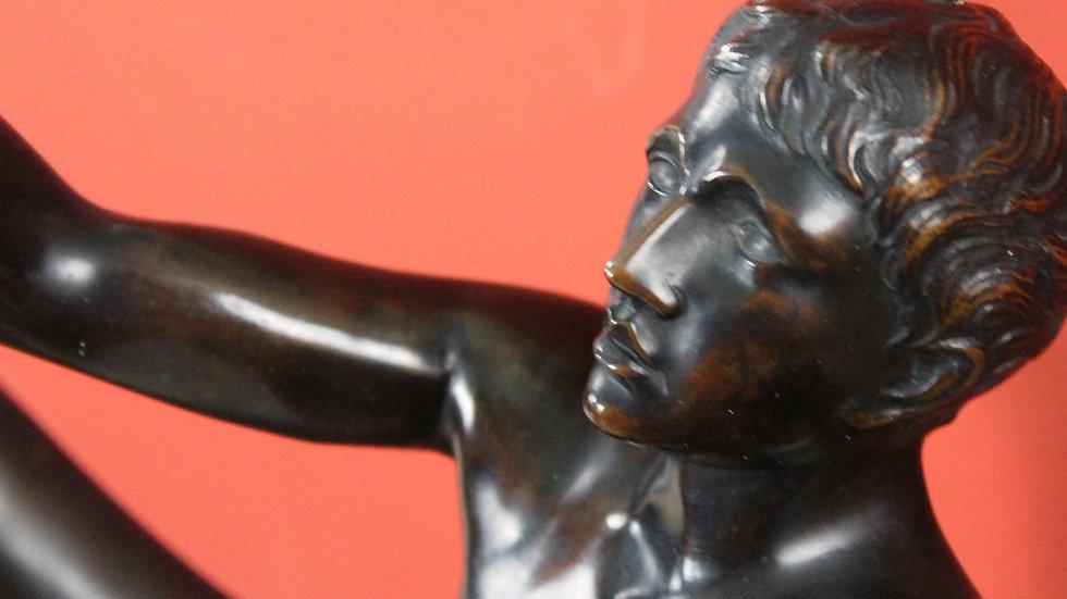 Bronzeskulptur Orant
