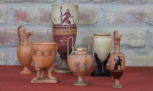 antike Keramik, Terracotta
