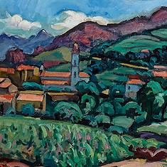 Charles Camoin, Die Kirche von Piana auf Korsika