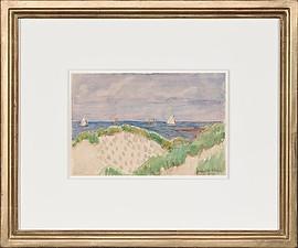 Otto Modersohn, Blick aufs Meer
