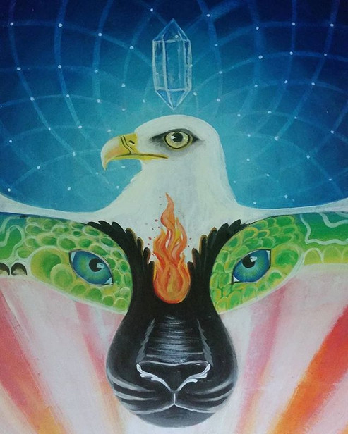 Ayahuasca Alchemist lol #mural #details