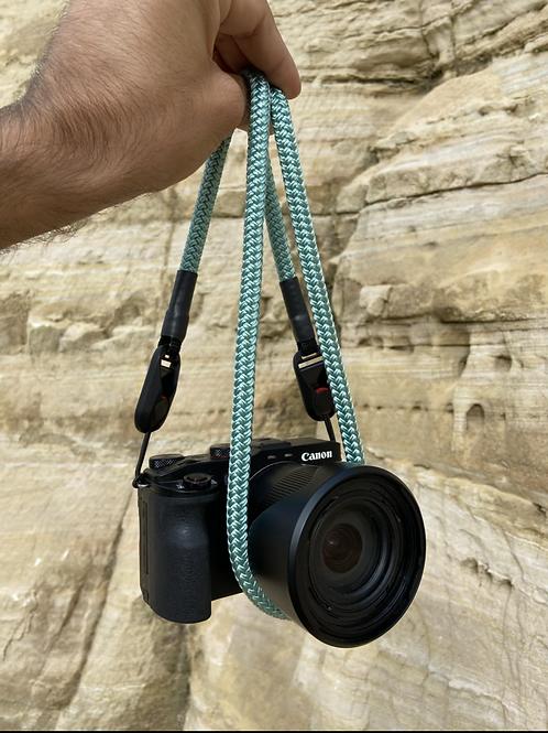 """Kameraseil Trage/Schultergurt für alle Kamerahersteller""""Sea Green"""""""