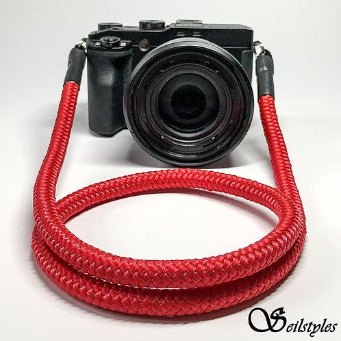 """Kameraseil Trage/Schultergurt für alle Kamerahersteller """"Farbe rot"""" 10mm"""
