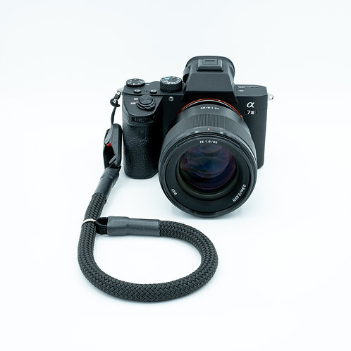 Handschlaufe Trageschlaufe für alle Kameratypen schwarz 10mm Peak