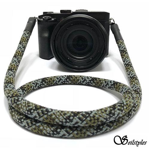 """Kameraseil Trage/Schultergurt für alle Kamerahersteller """"Farbe camouflage"""" 10mm"""