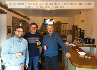 """Cheers to the Three Horseshoes!"" – Chris Elmore MP"
