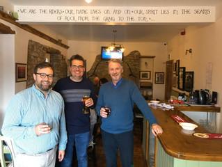"""""""Cheers to the Three Horseshoes!"""" – Chris Elmore MP"""