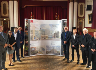 Maesteg Town Hall Redevelopment Off To A Flying Start Thanks To Welsh Labour Government and EU Fundi