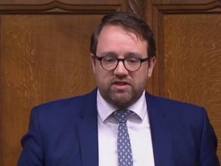 Chris Elmore Tackles Theresa May On Police Cuts